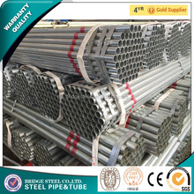 Construction building materials galvanized steel pipe, steel scaffolding galvanized pipein TianJin