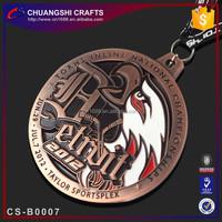 Folk Art Style and Zinc alloy material blank medal