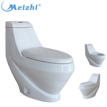 Ceramic lady toilet commode