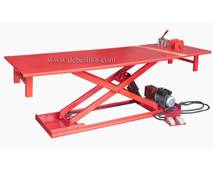 Electric Hydraulic Scissor Motorcycle Lift Table
