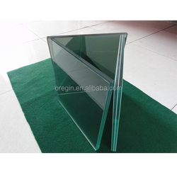 SGP PVB EVA film tempered laminated glass/10+10mm toughened laminated glass price
