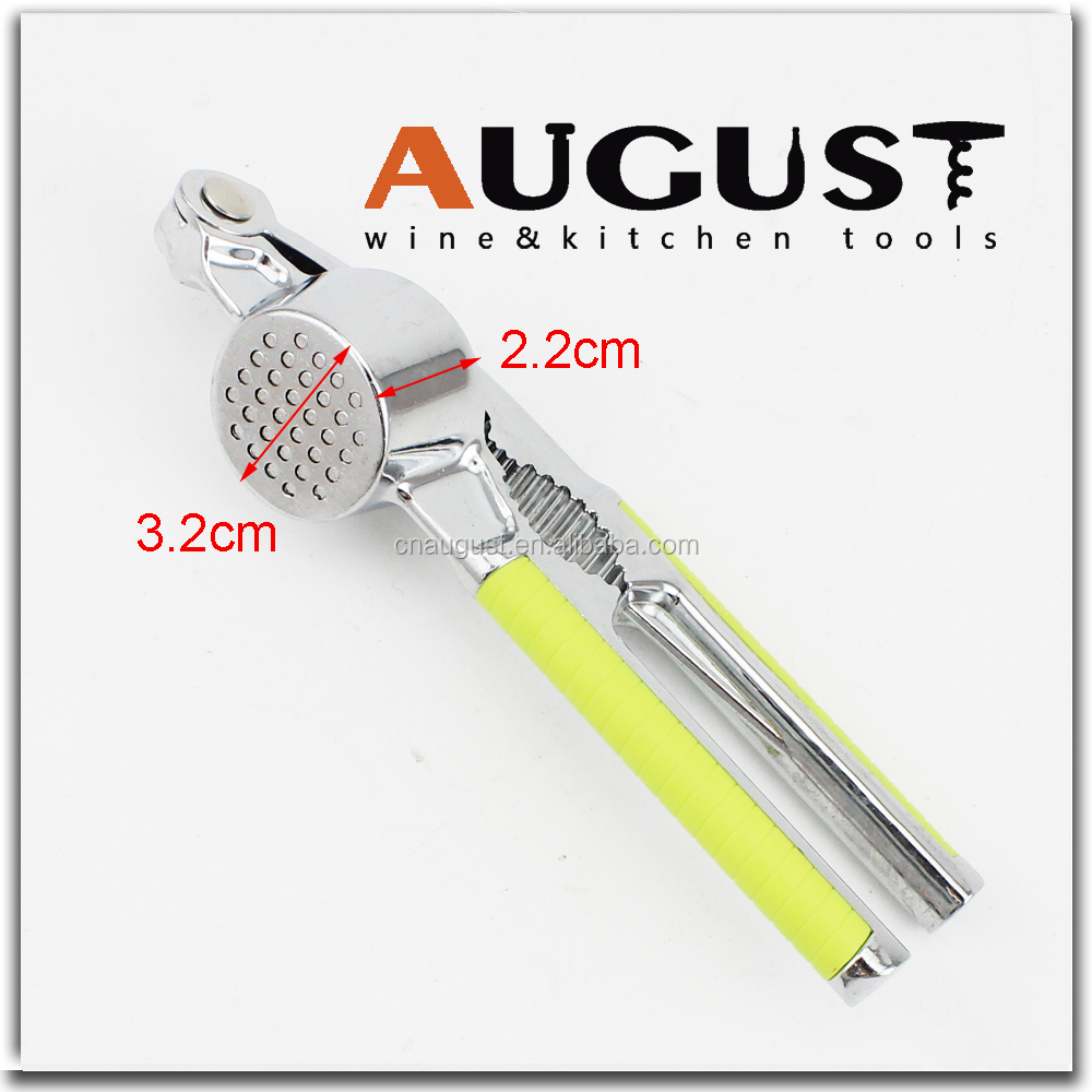 Chinese Premium Zinc Garlic Press, Crusher, Mincer, Nutcracker, Offers Quick & Easy
