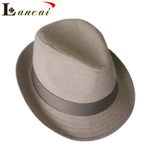 Price competitive wholesale custom cotton winter casual bowler felt hat felt hillbilly hat for man