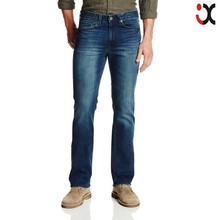 2015 fashion modern boot cut designs for men wholesale cheap jeans pants price JXQ743