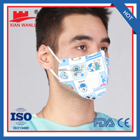 BFE 99.5% disposable child/kids face mask prevent flue