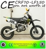 Hot sell CE good quality cheap CRF70-LF150cc motorcycle