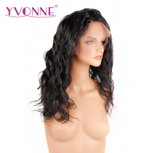 Natural Hairline 180% Density Brazilian Body Wave Human Hair Lace Wigs For Small Heads