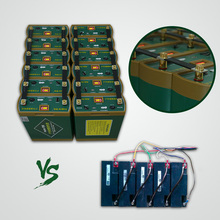 Sealed lead-acid battery out by lithium ion type 12v 24v inverter battery 100ah 200ah built in BMS