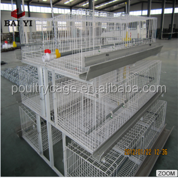 Layer Type Baby Chick Poultry Battery Cage For Kenya Farms
