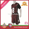custom design 2016-2016 Thailand quality latest football jersey designs/dry fit football uniforms wholesale