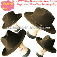 winter floppy cowboy hat