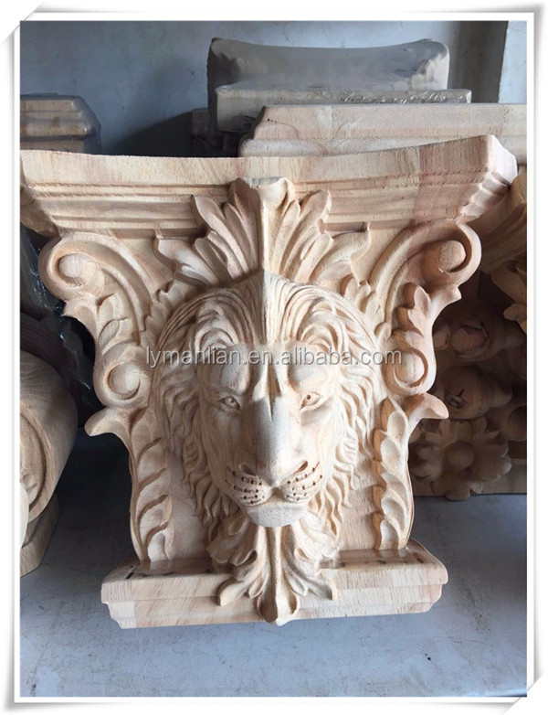 wood carving wood corbels