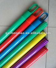 Eucalyptus wooden broom stick with PVC cover