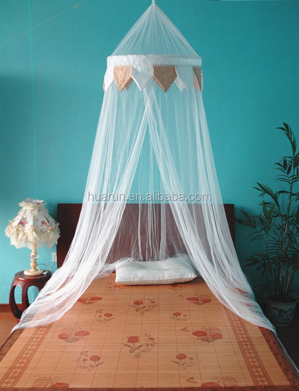 Round Curtain Dome Bed Canopy Netting Decoration Mosquito Nets