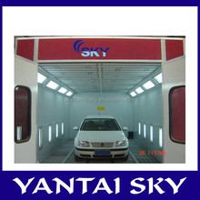 With CE Safety cabinet spray booth for car spray paint white