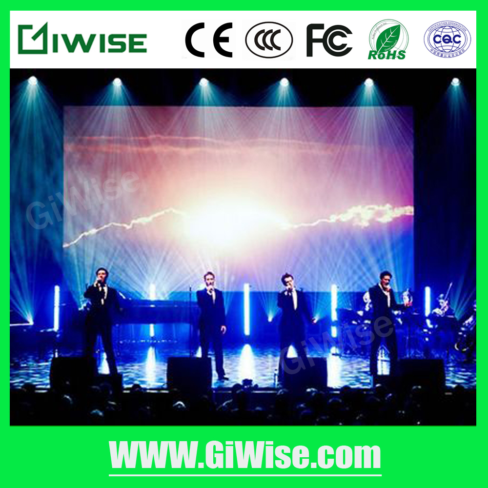 Small pixel P3 indoor of SMD HD LED screen for meeting room TV show with high brightness