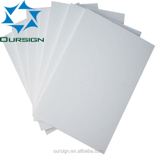 Custom UV printing Plaswood board sheet Printing plastic board
