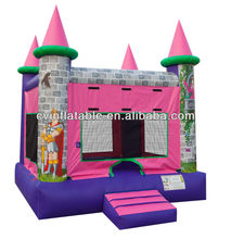2013 hot sale inflatable princess bounce house