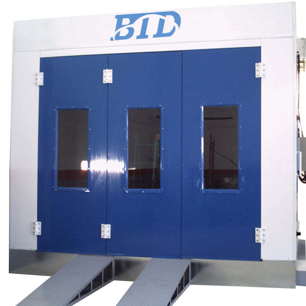 BTD low price top quality ventilation system automotive paint spray booth