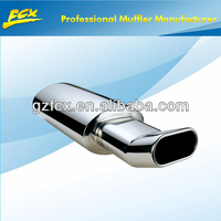 car auto stainless steel performance universal muffler