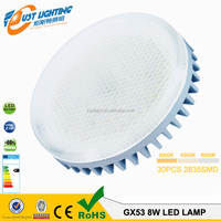 Aluminum Socket 75mm GX53 Led Lamp 2Years Warrante time LED Cabinet Lights