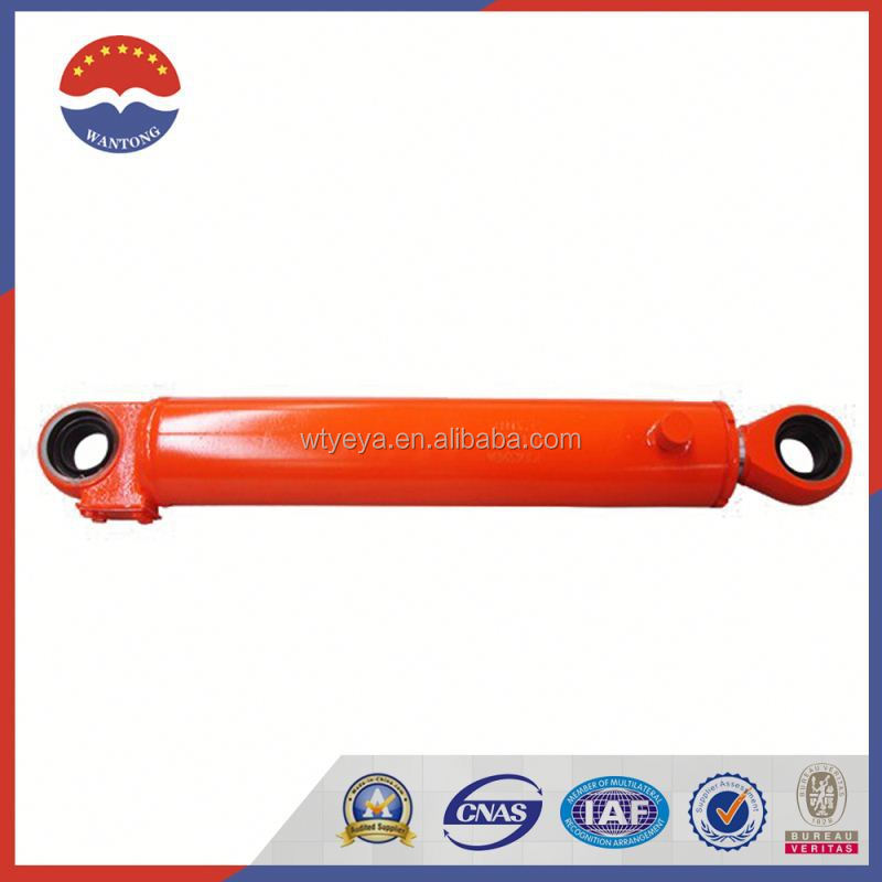 Front Tipping Hydraulic Cylinder For Backhoe Loader