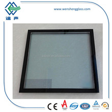 low-E insulated triple panel glass prices with CE standard