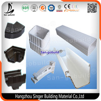 Hot Selling China Manufacturer Other Plastic Building Material/PVC Rain Gutter