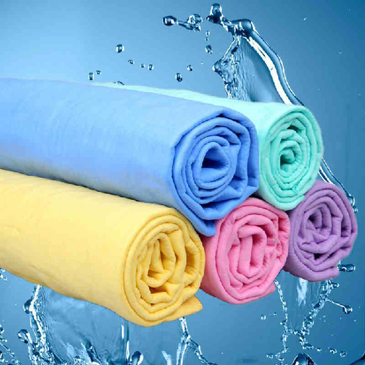 China wholesale pva chamois towels best golf cooling towel