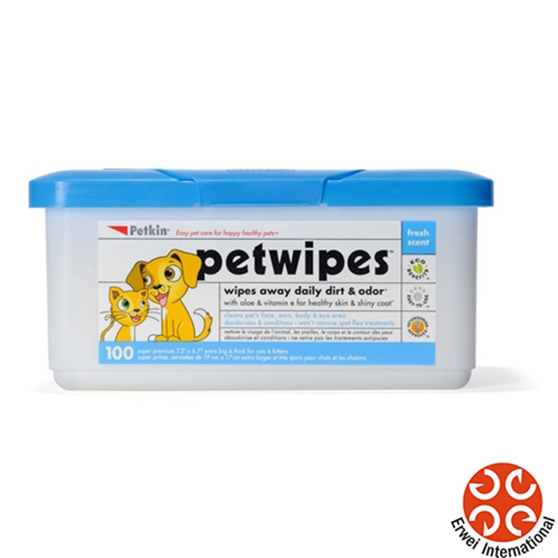 Dog Cleaning Wet Pet Wipes Dog Hair Fall Wipes