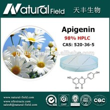 With 12 years experience In bulk supply skin health chamomile extract 1.2% apigenin