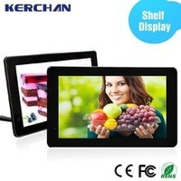 Retail 15.6 lcd touch flat screen tv advertising