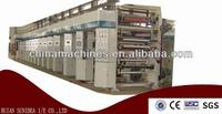 Multicolor Plastic Film roto Gravure Printing Machine Supplier In China