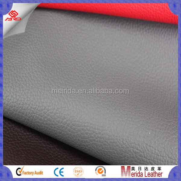 Faux Pvc Leather for furniture industry and Seat Cover upholstery