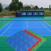 2016 New Arrival Hot Sale Promotion tennis court interlocking mat