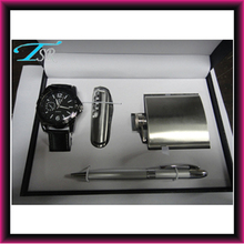wholesale novelty gifts men's gift sets watches, gift watches with knife