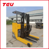 TEU 4 wheel battery Lift Truck ,electric reach forklift