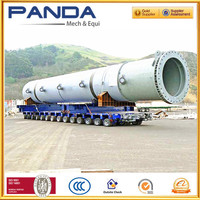 Multi Axle Hydraulic Self Propelled Modular