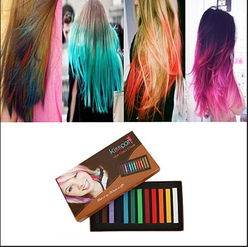 Bright colored chalk powder for hair OEM