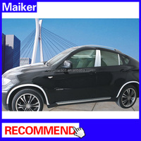 Car fender flares for BMW X6 E71,chrome Fender Trim accessories from Maiker Auto