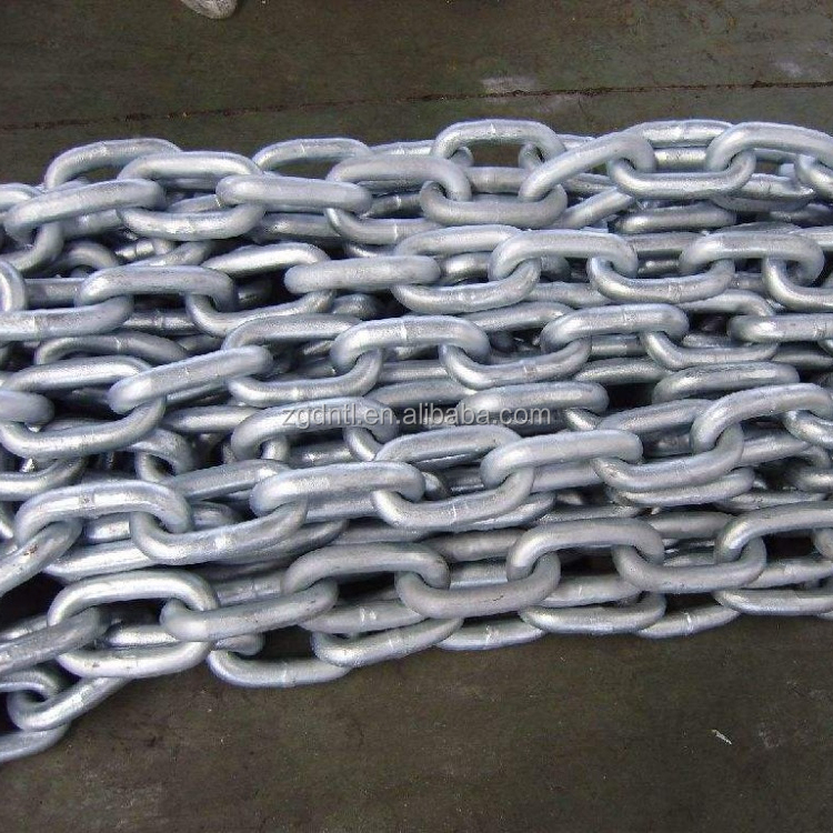 SS 316 Stainless Steel Korean Standard Short Link <strong>Chain</strong> with dia 6mm