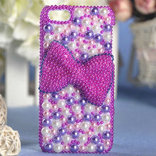 Mobile Phone Luxury Customzied Beads Cover Jewels Case for iPhone 5 5s iPhone 6 6plus