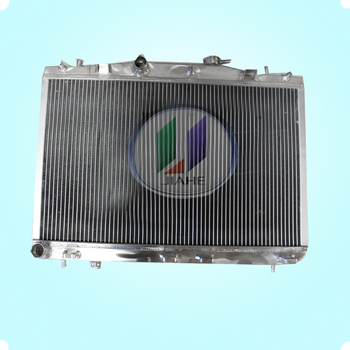 wholesale high quality spare parts aluminum car radiator manufacturer for CRX 88-91