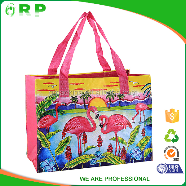 ISO/BSCI China manufacturer reusable custom print small and large shopping bag