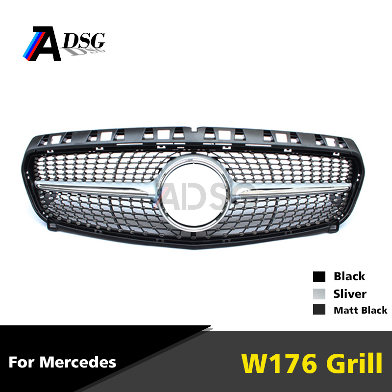Mercedes A Class W176 diamond ABS Front Grill