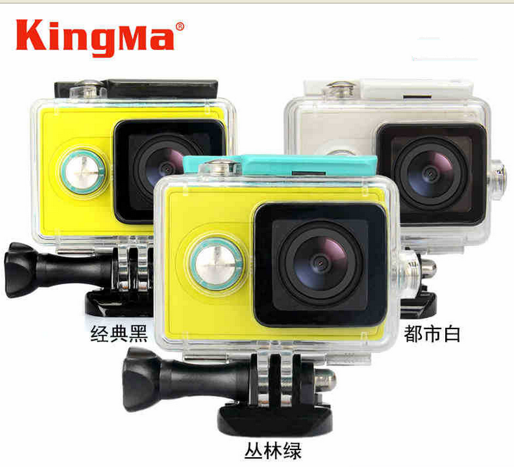 new products Kingma brand waterproof case for xiaomi yi action camera waterproof case