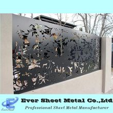Cheap and high quality laser cut metal decorative safety fencing panels