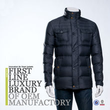 European Winter Jacket For Men Mature Down Clothing