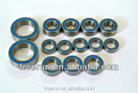 High Performance TEAM INTEGY i10B 4X4 1/10 BUGGY steel bearing kits with different rubber seal color