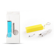 Easy carry power bank small size 2600mah with keyring